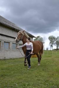 Tamara Sulg esitleb ER mära, Foto: A. Pahka