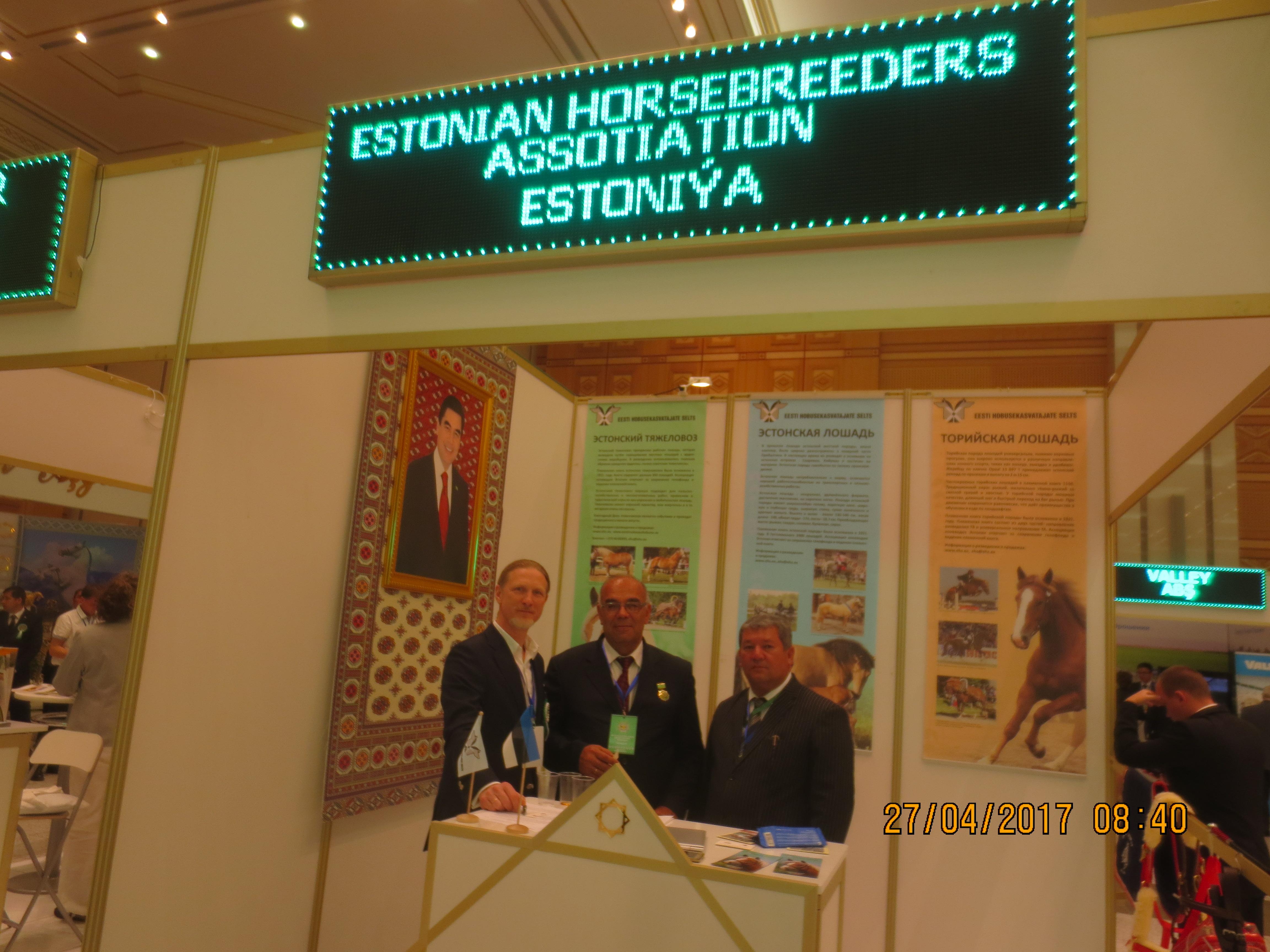 37fd9c1aa39 Meie boksis koos hobusekasvatajatega Kasastanist ja Usbekistanist.